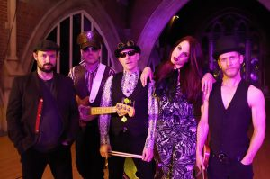This is the profile photo for the function & party band Lovelace